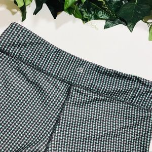 GAP Pants - Gap Fit Leggings Black Green Gray lazar Triangle